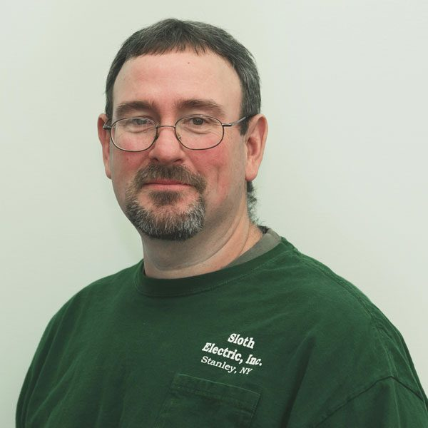 Mark has been with Sloth Electric since 1995 and is currently a Project Manager.