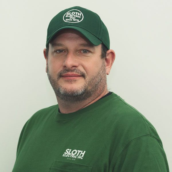 Matt has been with Sloth Electric since 2003 and is currently a Project Manager.