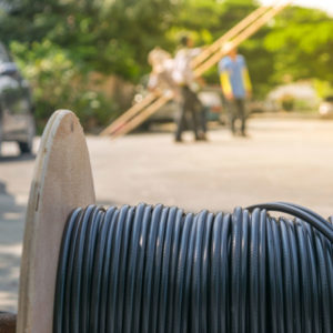 Rochester Fiber Optic Cable Installation