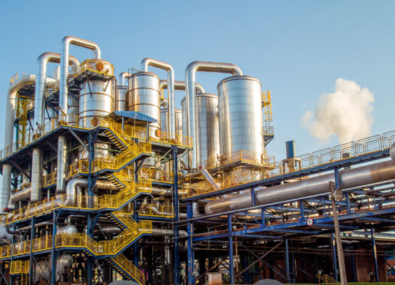 Industrial Chemical Processing Plant